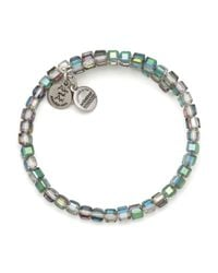 ALEX AND ANI | Blue Vintage 66 Starryeyed Wrap Bracelet | Lyst