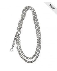 AllSaints | Metallic Cargo Necklace | Lyst