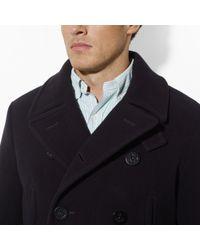 Polo Ralph Lauren Blue Academy Pea Coat for men