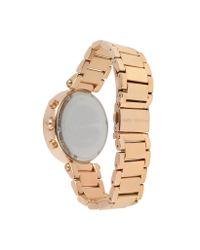 Michael Kors - Pink Glitz-Top Chronograph Watch - Lyst