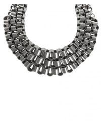 AllSaints - Metallic Biserka Necklace - Lyst