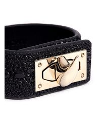 Givenchy | Black Shark Turn-lock Bracelet | Lyst