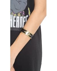 House of Harlow 1960 - Metallic Serene Station Cuff - Lyst