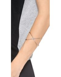 House of Harlow 1960 - Pink Sound Waves Cuff - Lyst