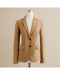 J.Crew | Brown Nouvelle Jacket in Super 120s | Lyst