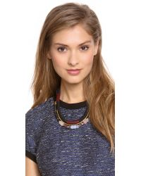 Lizzie Fortunato | Multicolor The Working Uniform Necklace | Lyst