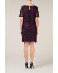 Alexon Purple Lace Tunic