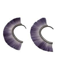 Bjorg - Blue Bronze Earring Cuff - Lyst