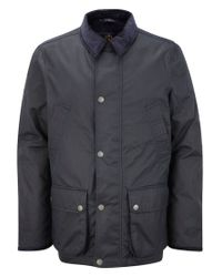 Henri Lloyd Blue Regis Wax Jacket for men