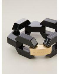 Marc By Marc Jacobs Metallic Bolt Link Bracelet
