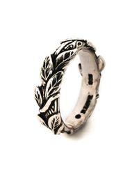 Pamela Love | Metallic Branch Ring | Lyst