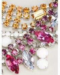 Tom Binns - Multicolor Crystal Tangled Necklace - Lyst