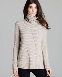 Vince | Natural Sweater Traveling Turtleneck | Lyst