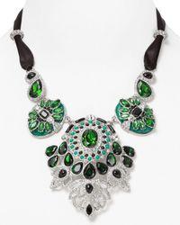 Carolee Green Eastern Opulence Drama Necklace 18