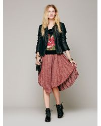 Free People Brown Starry Night Dress