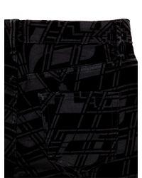Ted Baker Black Velveta Velvet Skinny Jeans