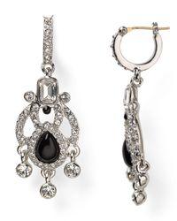 Carolee Black Eastern Opulence Mini Chandelier Earrings