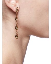 Philippe Audibert | Metallic Adele Almond Topaz Drop Earrings | Lyst
