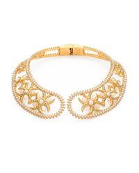 Alexander McQueen Metallic Chocker Wings Collar Necklace