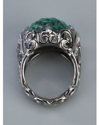 Stephen Webster | Metallic 'les Dents De Le Mer' Crystal Haze Filigree Ring | Lyst