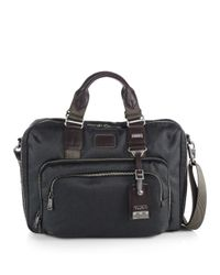 Tumi | Gray Yuma Slim Briefcase for Men | Lyst