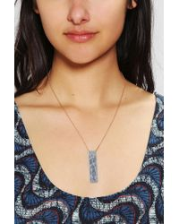 Urban Outfitters Metallic Jeweliany Constellation Necklace