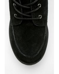 Urban Outfitters Black Bdg Toni Treaded Platform Boot