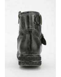 Urban Outfitters Black Bed Stu Spunky Moto Boot