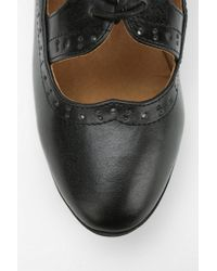 Urban Outfitters Black Chelsea Crew Misty Cutout Oxford