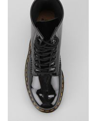 Urban Outfitters Black 8eye Patent Leather Boot