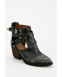 Urban Outfitters Black Jeffrey Campbell Everwell Cutout Ankle Boot