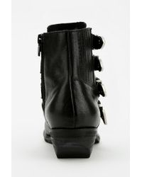 Urban Outfitters Black Kelsi Dagger Dallas Ankle Boot