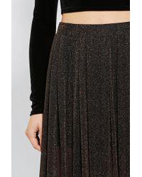 Urban Outfitters Black Kimchi Blue Sparkle Dreams Maxi Skirt