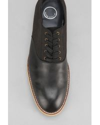 Urban Outfitters Black Mosson Bricke Ripple Oxford Shoe for men