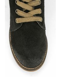 Urban Outfitters Black Mtng Originals Hydra Laceup Boot