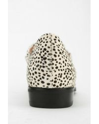 Urban Outfitters Natural Jeffrey Campbell Invest Animal Print Mary Jane