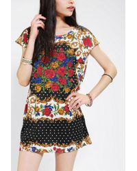 Urban Outfitters | Multicolor Excessive Tunic | Lyst