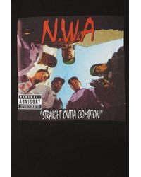 Urban Outfitters | Black Nwa Straight Outta Compton Tee for Men | Lyst