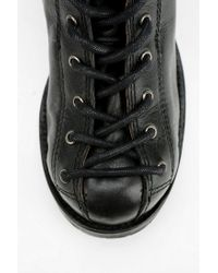 Urban Outfitters Black Sixty seven Darian Laceup Boot