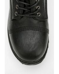 Urban Outfitters Black Sixtyseven Delano Laceup Platform Oxford