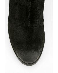 Urban Outfitters Black Steve Madden Cinch Cutout Ankle Boot