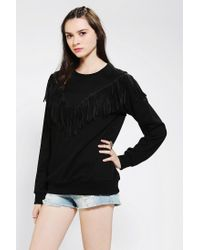 Urban Outfitters - Black Girlfriends Club Boyfriend Sweatshirt - Lyst