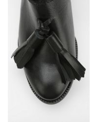 Urban Outfitters Black To Be Announced Aurelia Tassel Slingback Loafer