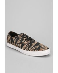 Urban Outfitters Black Madero Tiger Camo Mens Sneaker for men