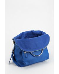 Urban Outfitters - Blue Deena Ozzy Vegan Leather Circlehandle Shoulder Bag - Lyst