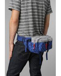 Urban Outfitters Blue Herschel Supply Co X Stussy Eighteen Belt Bag for men
