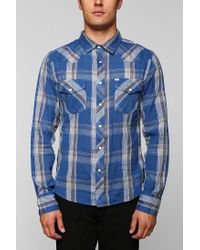 Urban Outfitters | Blue Salt Valley Pacific Western Shirt for Men | Lyst