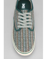 Urban Outfitters Green Treasure Market Striped Sneaker for men