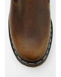 Urban Outfitters Brown Dr Martens Gerry Slipon Oxford