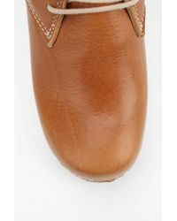 Urban Outfitters Brown Maguba Casablanca Platform Wedge Ankle Boot